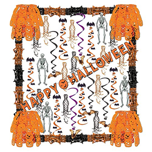 Beistle 01169 Halloween Reflections Decorating Kit, 34