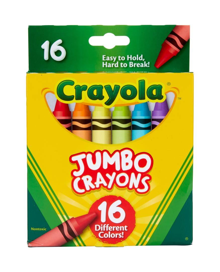 Crayola Jumbo Crayons 16Count, Multicolor by Crayola (Image #2)