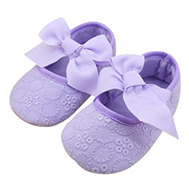 Mother & Kids 2015 Fashion Bowknot Baby Girl Lace Shoes Anti-slip Toddler First Walkers Infants Cute Dots Girls Princess Shoes