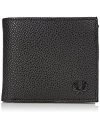 Fred Perry Men's Scotch Grain Billfold and Coin Wallet