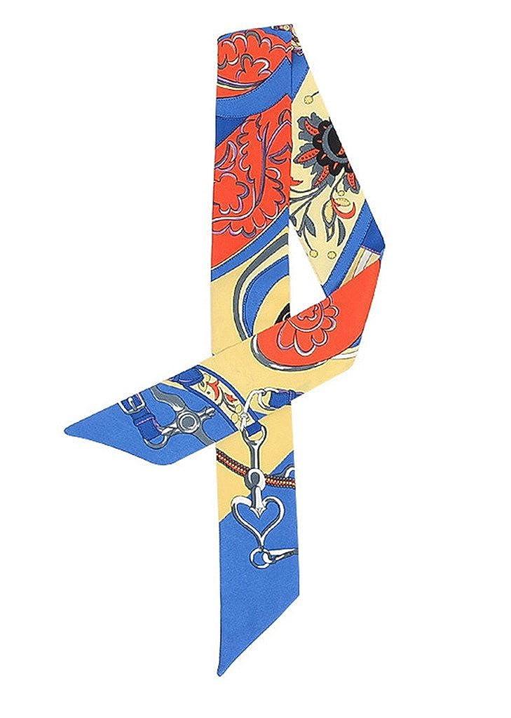 COMVIP Imitation Silk Bag Handle Ribbon Scarf Bandeaus Headband