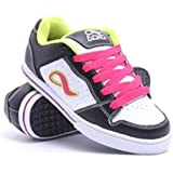 de96f3a713 Adio Skateboard shoes Betsey Black White Lime Sneakers Shoes