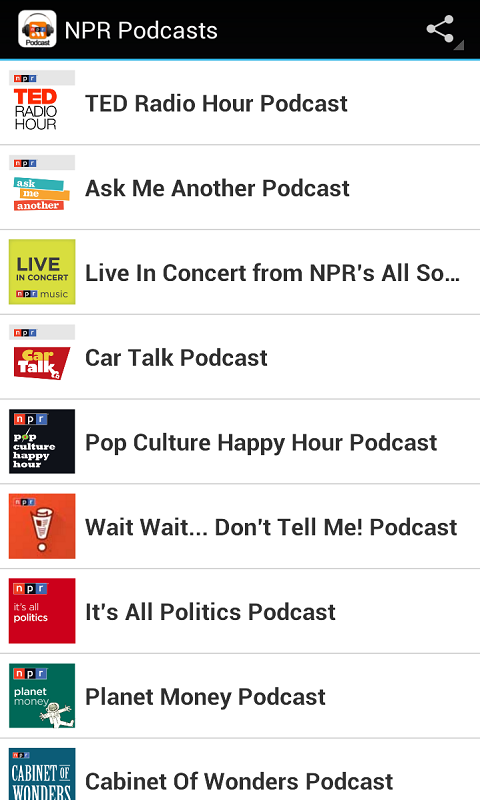 how to download npr podcasts android