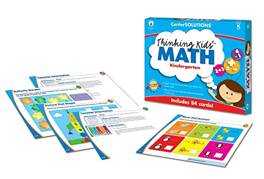 Amazon.com : Carson-Dellosa Publishing Thinking Kids' Math Grade K ...