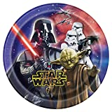 Unique Star Wars Dessert Plates, 8-Count
