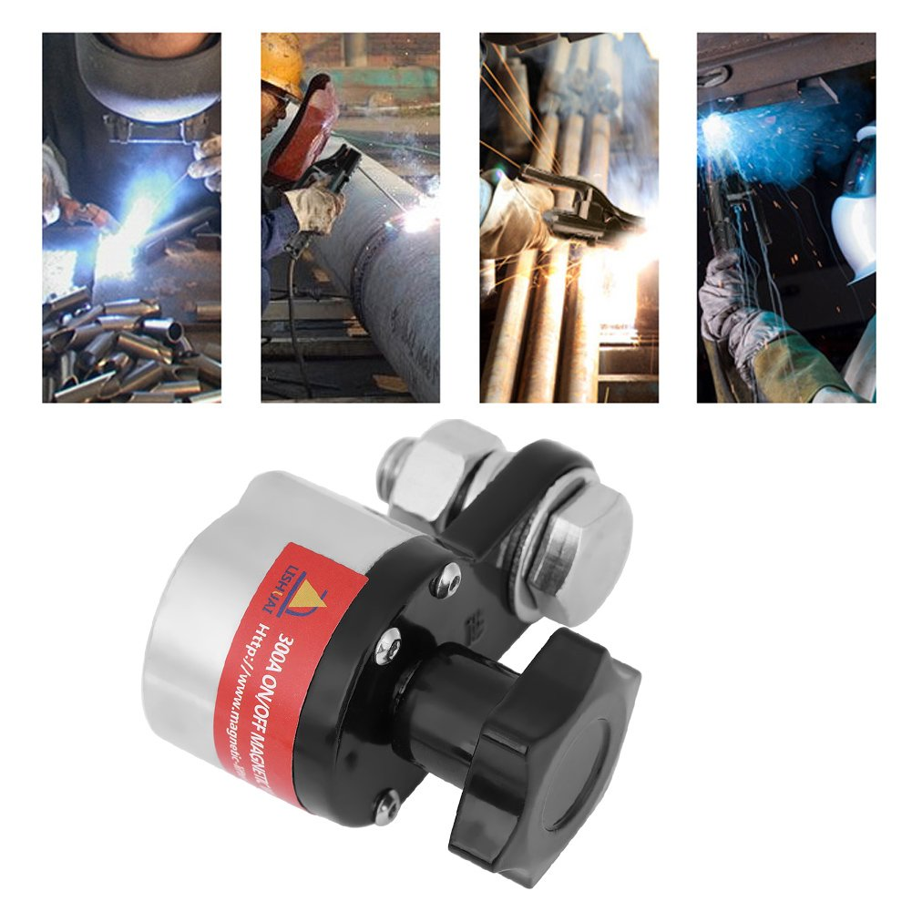 300A On//Off Magnetic Welding Ground Clamp Rare Earth Switchable Magnet Welding Holder