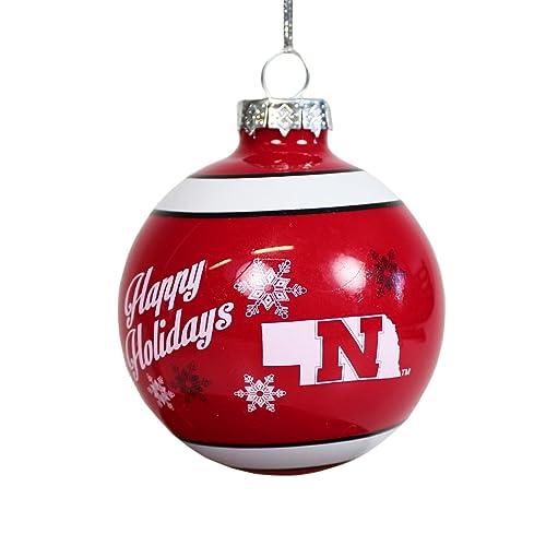 Nebraska Cornhuskers Ornaments: Amazon.com