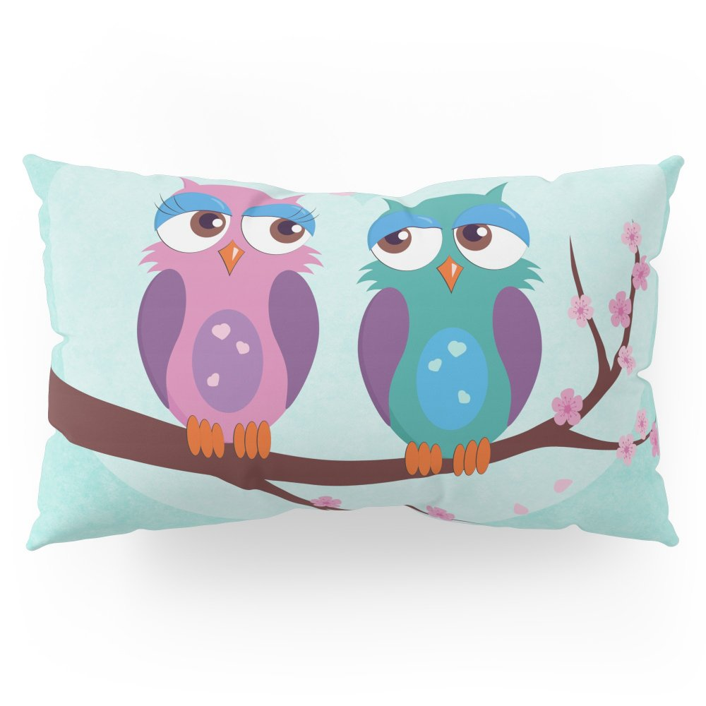 Society6 Love Owls Pillow Sham King (20'' x 36'') Set of 2