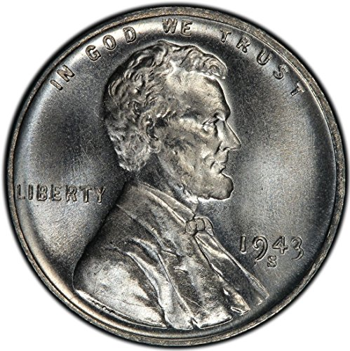 1943 S LINCOLN STEEL WHEAT PENNY