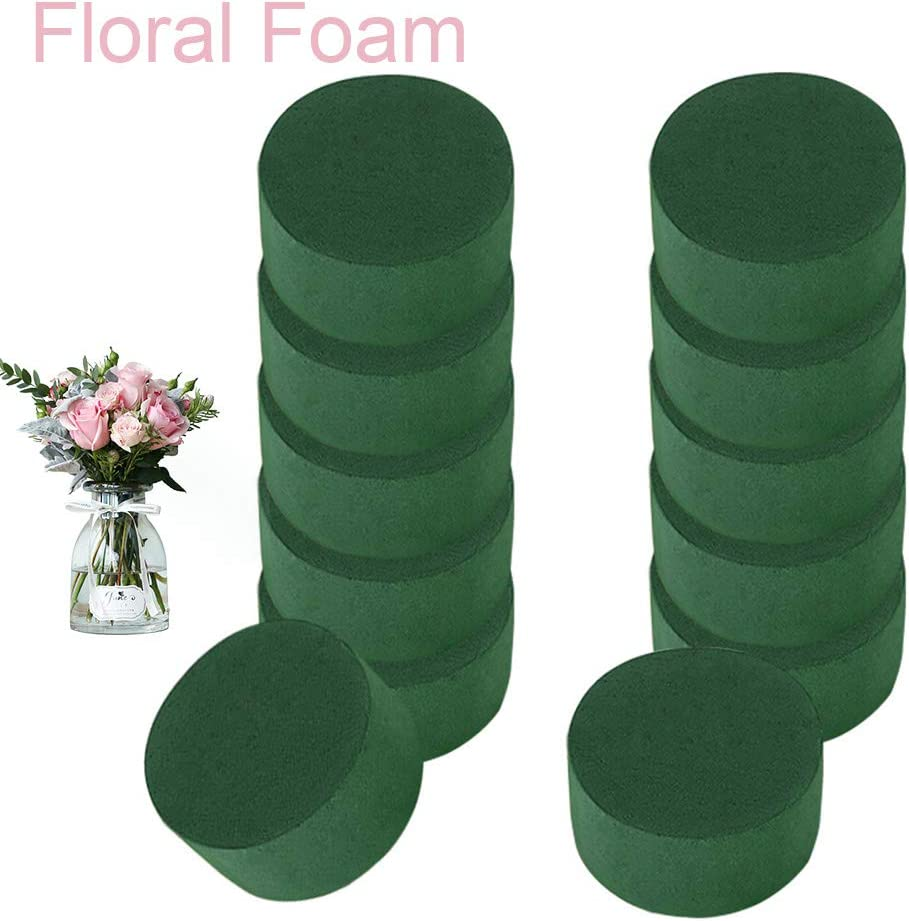 12pcs//Pack DIY Craft Wedding Aisle Flower Arrangement Floral Foam Storage Holder