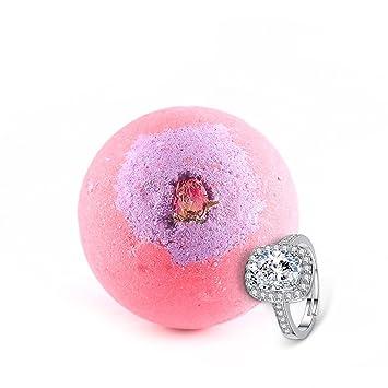 Amazon.com: Bombas de baño con anillo interior, regalo de ...