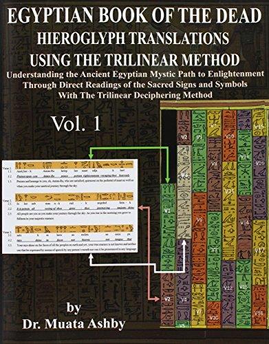 EGYPTIAN BOOK OF THE DEAD HIEROGLYPH TRANSLATIONS USING THE TRILINEAR METHOD