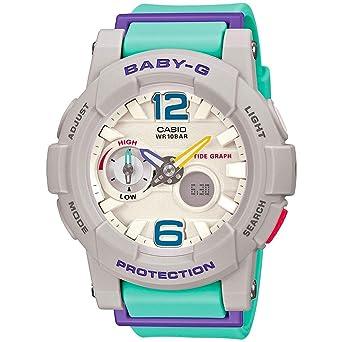 ec6d5fba81ea Casio G-Shock Women s BGA-180-3BCR Green Purple Watch