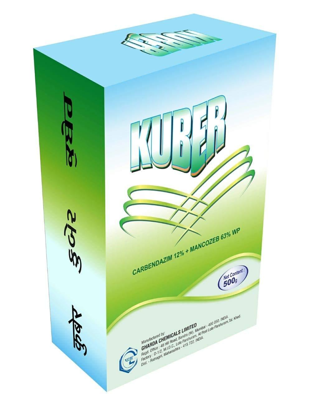 KUBER Fungicide 500GM [Carbendazim 12% + Mancozeb 63% WP