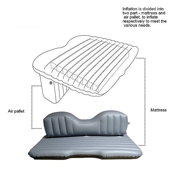 Amazon.com: Hooke Road Car Travel Inflatable Mattress ...