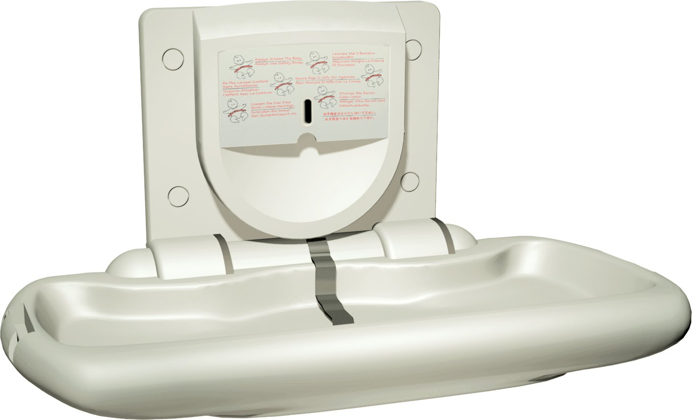 ASI 9012 Surface Mounted Baby Changing Station by ASI