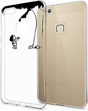 MATOP Coque Huawei P10 Lite, Transparente Ultra Mince Silicone ...
