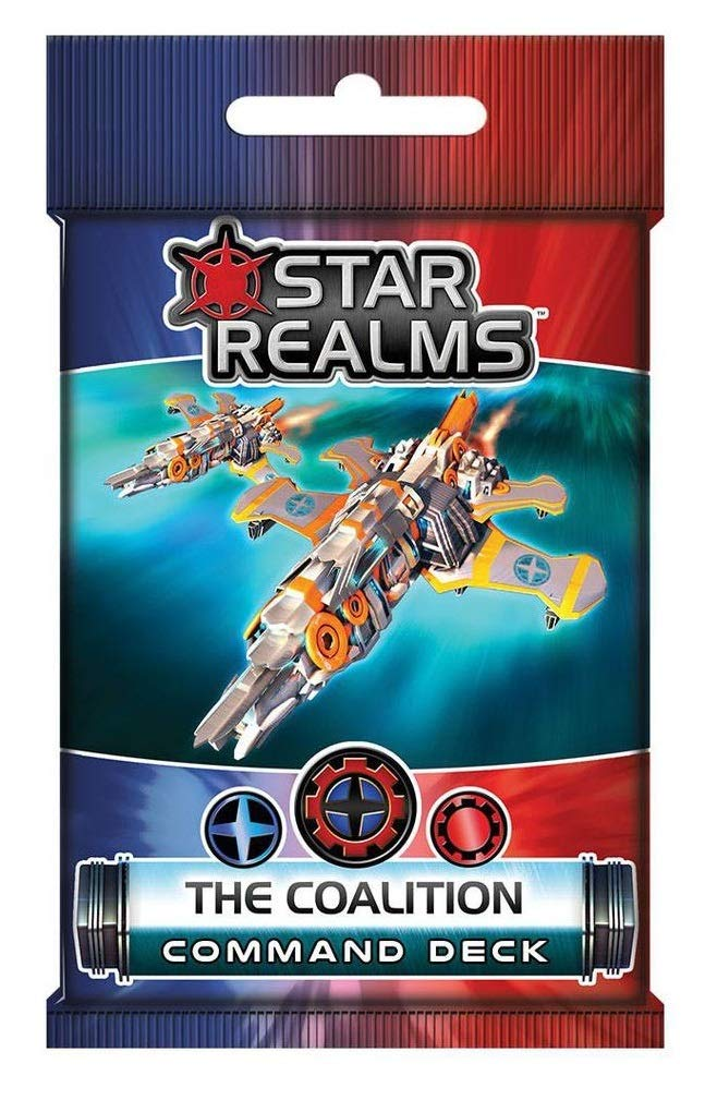 White Wizard Games Star Realms: The Coalition Command Deck: Amazon.es: Juguetes y juegos