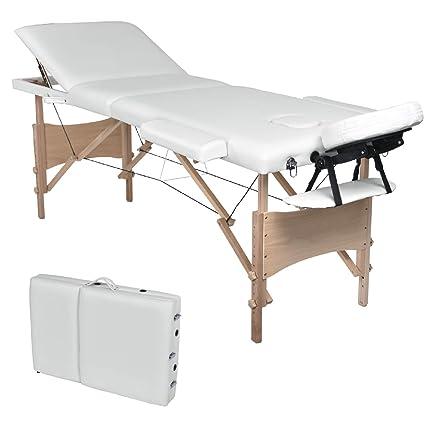 Lettino Massaggio Portatile San Marco.Negozio Di Sconti Online Lettino Massaggio Pieghevole 3 Zone Legno