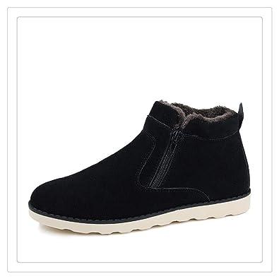 d902f6f5bf16e Winter Boots Men Warm Snow Boots Men Casual Snow Boots Men Plush Zipper Winter  Shoes Men