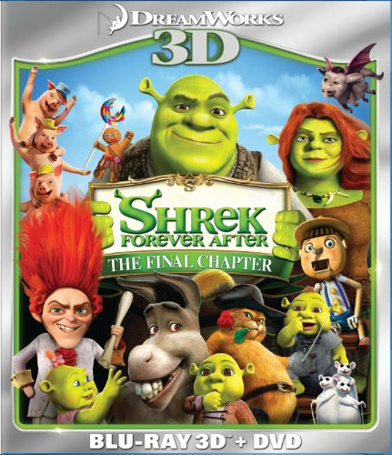 Shrek Forever After (Two-Disc Blu-ray 3D/DVD Combo)