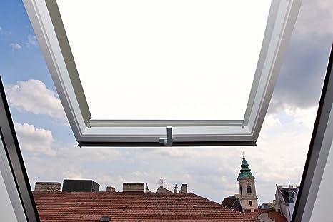 Skylight tenda oscurante con guide laterali in alluminio per velux