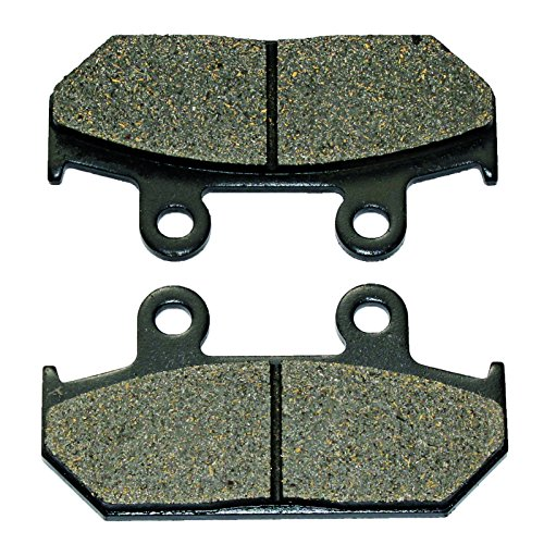 Caltric FRONT BRAKE PADS Fits HONDA GB250 GB-250 CLUBMAN 250 1990-1993 ()