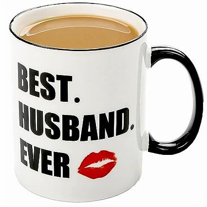 Best Husband Ever 11OZ Ceramic Coffee Mug Nice Birthday Motivational And Inspirational Ideas Personalised
