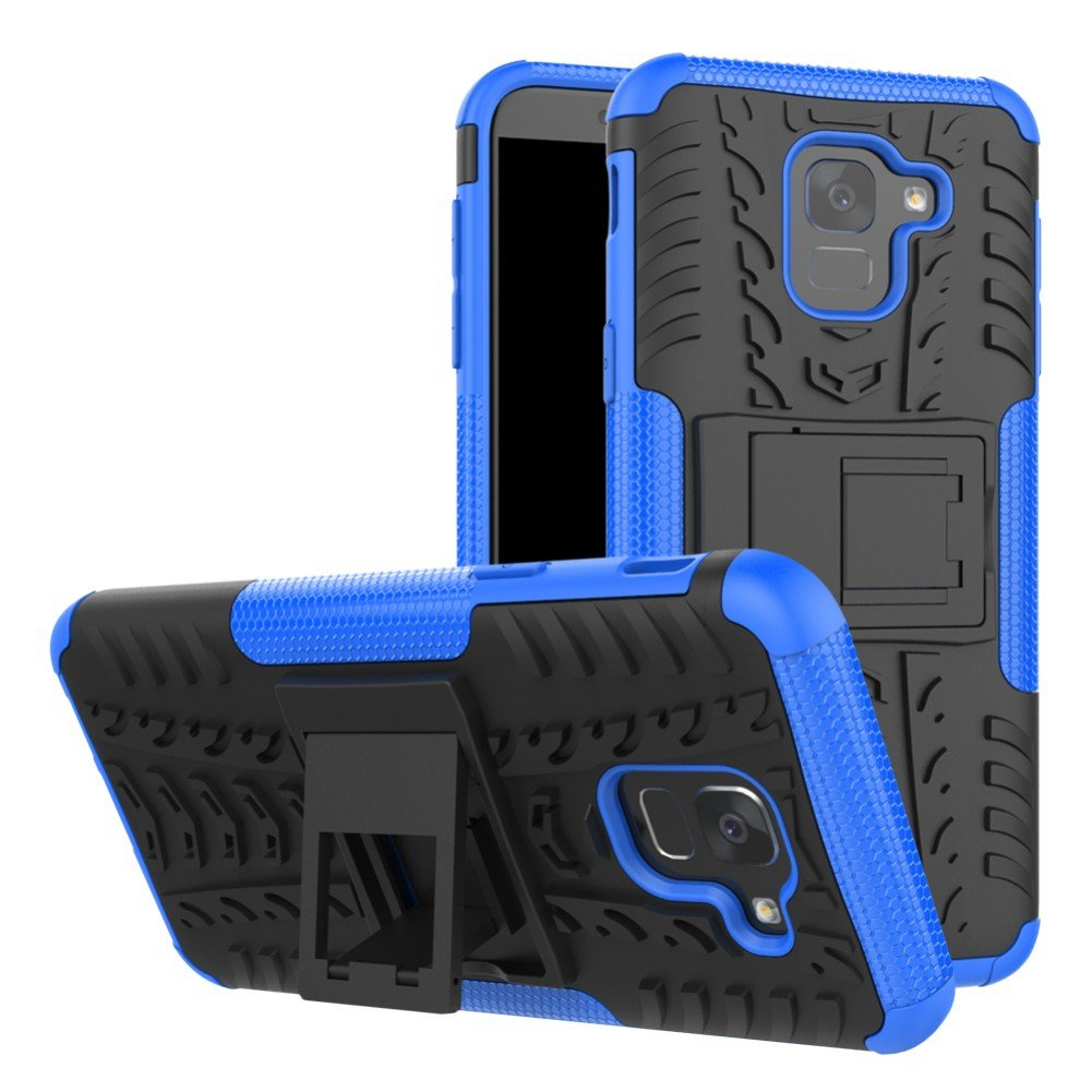 Galaxy J6 2018 Hybrid Case Dwaybox Rugged Heavy Duty Hard Back Goospery Samsung J3 2016 Canvas Diary Blue Cover With Kickstand For