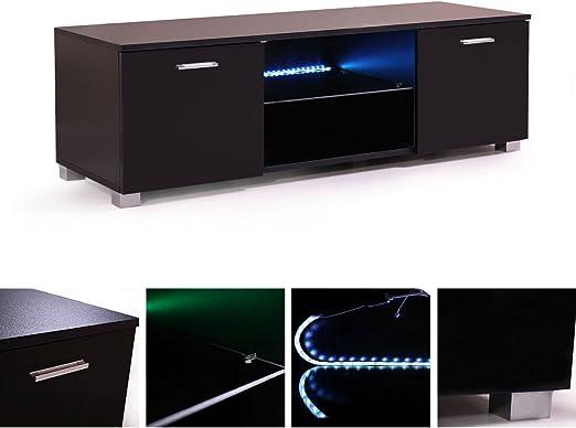 Tobbi - Mueble de Mesa para TV (47 Pulgadas), Color Negro: Amazon.es: Juguetes y juegos