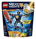 LEGO Nexo Knights Battle Suit Clay 70362 Building Kit (79 Piece)