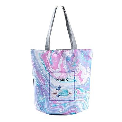 46f3507a769f Image not available for. Color  Crful Tote Handbag Canvas Design Single  Shoulder Bag y Beach Bag