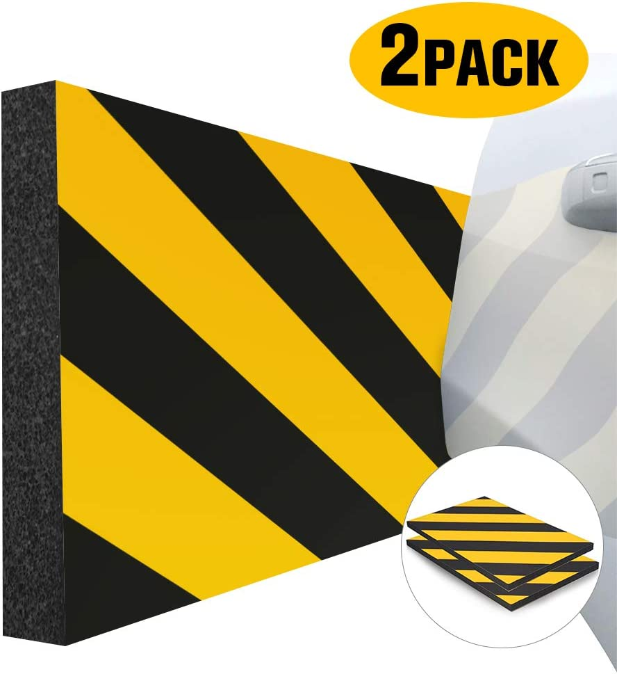 Wall Corner Edge and Bumpers Corner Guards Garage Wall Wall Edge Protector Protect Your Car GUEQUITLEX Garage Wall Protector Foam Wall Corner Guard for Parking Garages