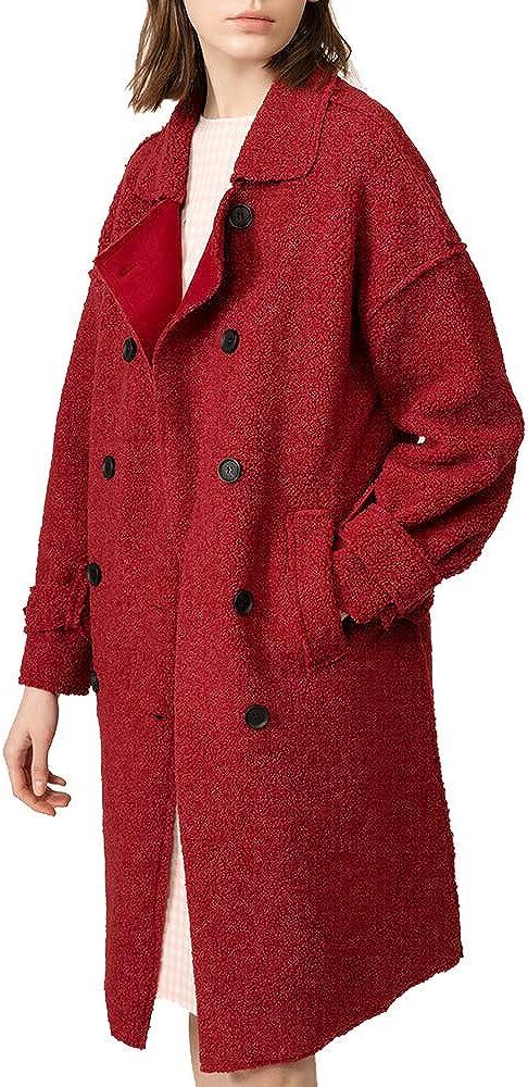 URLAZH Women's Fashion Faux Fur Autumn Shearling Fuzzy Soft Fleece Shaggy Plush Teddy Coat Jacket Winter Warm Overcoat