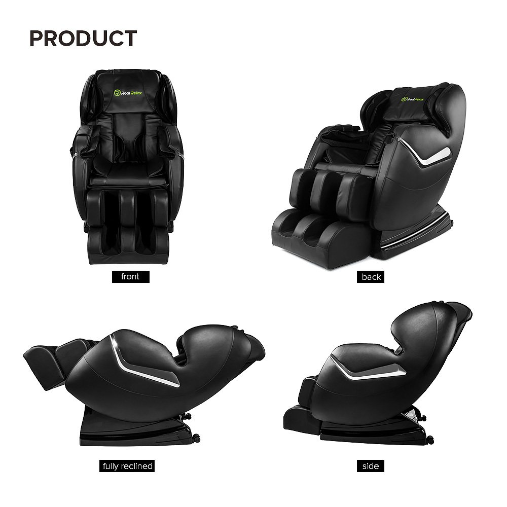 Real Relax Massage Chair Recliner - Full Body Shiatsu, Zero Gravity, Armrest linkage system,with Heater (Black) by Real Relax (Image #9)