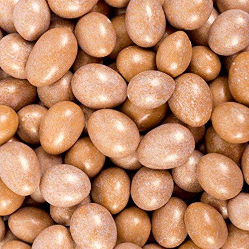 Shimmer Gold Salted Caramel Chocolate Covered Jordan Almonds 1LB Bag