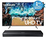 Samsung UN82NU8000 Flat 82″ 4K UHD 8 Series Smart LED TV (2018) BUNDLE