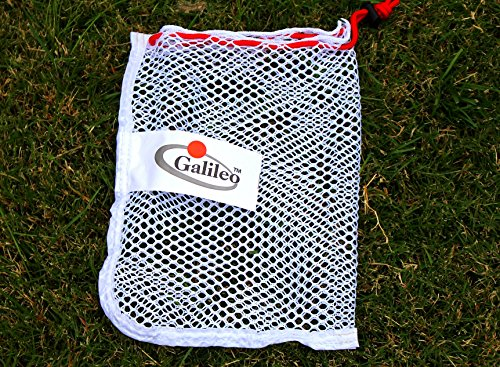 Hubble Golf Carry Bag Club Bags Golf Tennis Balls Carrying Holder Storage with Spring Buckle Durable Nylon Mesh Bag