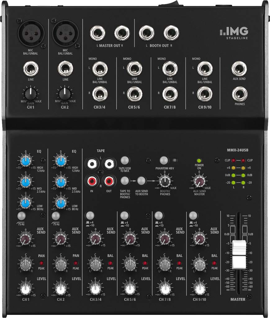 IMG 20.279 - Mesa de mezcla (6 canales, usb): Amazon.es ...