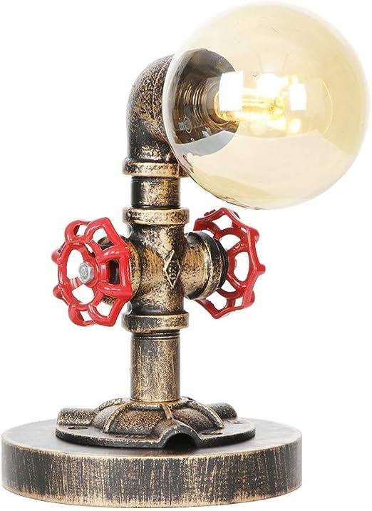 Agua de la vendimia de Steampunk de tubería Lámparas de mesa ...