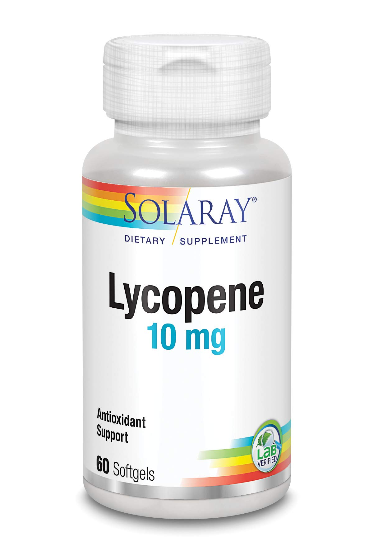 Solaray Lycopene Supplement, 10 mg, 60 Count by Solaray