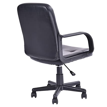 amazoncom giantex ergonomic pu leather midback executive computer best desk task office chair kitchen dining amazoncom bestoffice ergonomic pu leather high