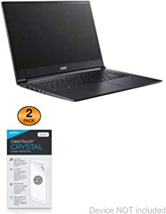 Acer Aspire 7 (A715-73G) Screen Protector, BoxWave® [ClearTouch Crystal (2-Pack)] HD Film Skin - Shields from Scratches for Acer Aspire 7 (A715-73G)