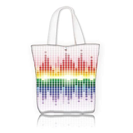 5ddc4cb48736 Amazon.com: Ladies canvas tote bag -W16.5 x H14 x D7 INCH/for Gym ...