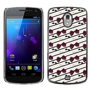 ZECASE Funda Carcasa Tapa Case Cover Para Samsung Galaxy Nexus 3 Prime I9250 No.0000201