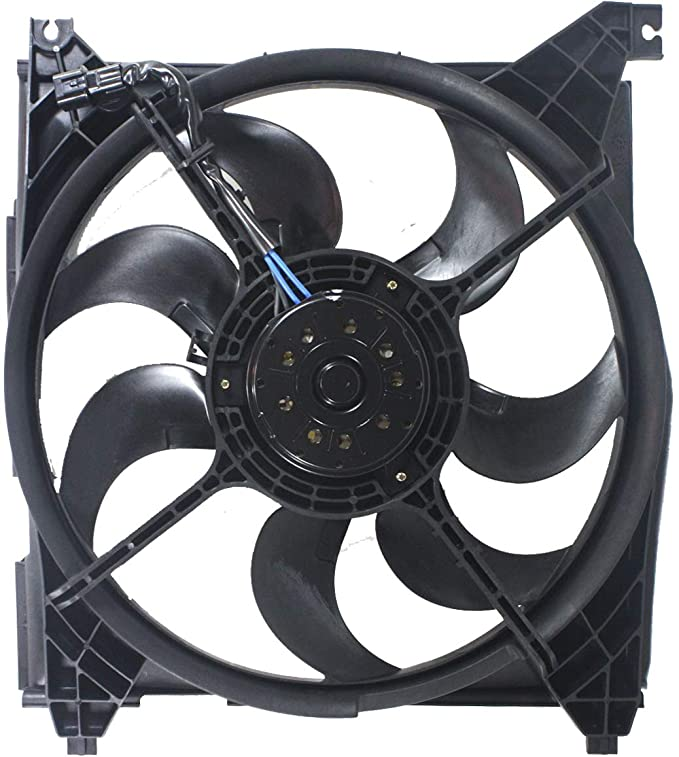 Radiator And Condenser Fan For Kia Optima Hyundai Sonata HY3115129