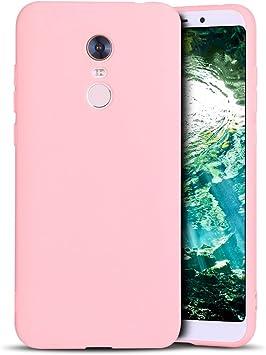 MoEvn Redmi 5 Plus Funda, Carcasa para Xiaomi 5 Plus, Case Cover TPU Suave Silicona, Slim Anti Skid Anti Rasguño Color Gel Funda para Xiaomi Redmi 5 Plus: Amazon.es: Electrónica
