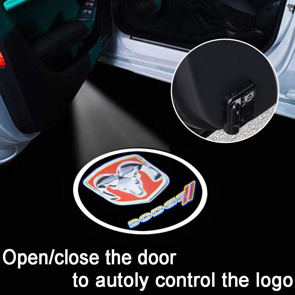 KENPENRI LED Door Projector Light for Buffalo Bills Car Door Led Welcome Laser Projector Suitable Fit for All Brands of Cars Buffalo Bills