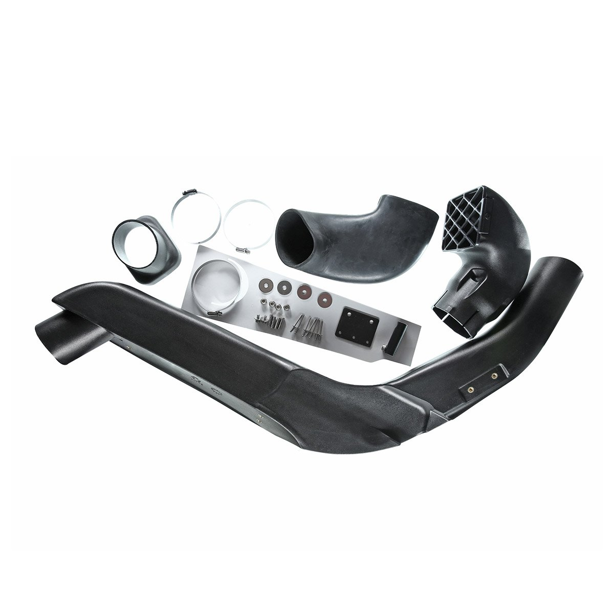A-Premium Air Ram Intake Snorkel Kit for Hummer H3 H3T 2008-2009 I53.7L Right Hand Passenger Side 4x4 Off Road by A-Premium