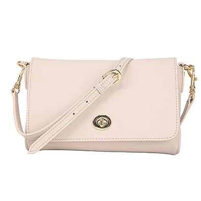 Amazon.com  Banuce Small Soft Real Leather Shoudler Messenger Bag for Women  Satchel Bag Ladies Lock Crossbody Purse  Shoes 761dbeb0f75af